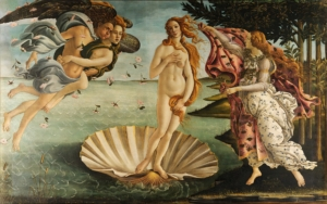 """The birth of Venus"" 1485"
