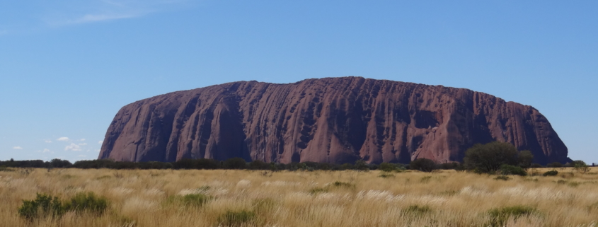 Der Ayers Rock im Northern Territory.