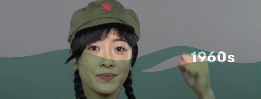 100 Jahre Haare Fashion In China Zwischenbetrachtung De