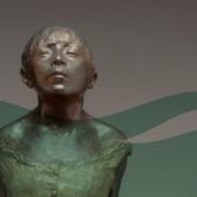 Kleine Vierzehnjährige Tänzerin von Edgar Degas