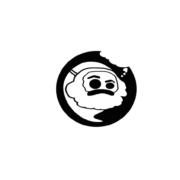 Gespenster-Logo mit Marx-Maske
