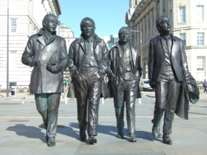 Beatles Statue in Liverpool