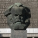 Karl Marx Statue in Leipzig