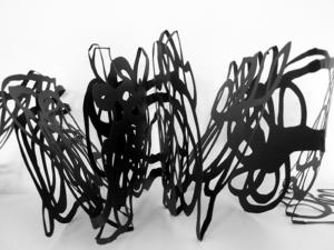 Linea, 2010. Entstanden für die Griffelkunstvereinigung in Hamburg ©Monika Grzymala, Foto: Monika Grzymala