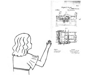 Patent für Knight © Renate Schleicher/Frederica Tsirakidou