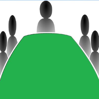 Am grünen Tisch verhandeln