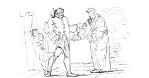 Sandmann Darstellung E.T.A. Hoffmann
